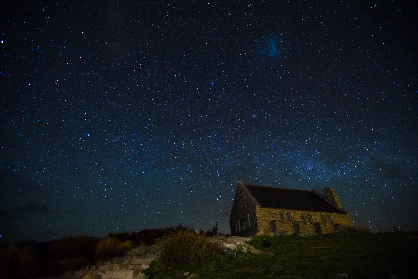 Another view of the Church of the Good Shepherd, Lake Tekapo